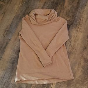 Camel colored tunic